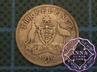 Australia 1916 Threepence