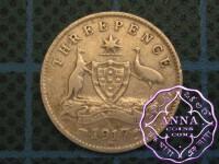 Australia 1917 Threepence