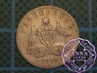 Australia 1918 Threepence