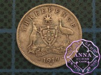 Australia 1919 Threepence
