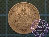 Australia 1920 Threepence