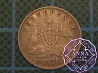 Australia 1921 Threepence