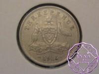 Australia 1915 Threepence