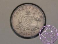 Australia 1923 Threepence