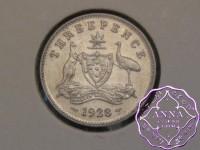 Australia 1928 Threepence