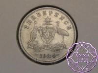 Australia 1934 Threepence