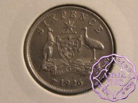 Australia 1926 Sixpence