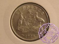 Australia 1928 Sixpence
