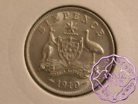 Australia 1940 Sixpence