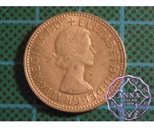 Australia Elizabeth II  .50 Silver Shilling Average Circulated Condition X1500