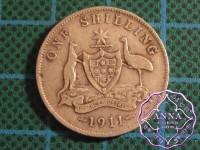 Australia 1911 Shilling