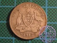 Australia 1912 Shilling