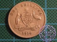 Australia 1914 Shilling