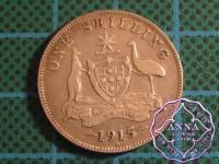 Australia 1915 H Shilling