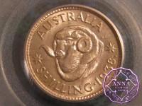 Australia 1938 Shilling PCGS MS65