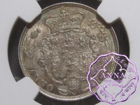 Great Britain 1821 George IV Shilling NGC MS62