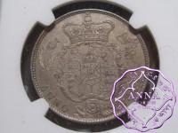 Great Britain 1821 George IV Half Crown NGC MS63