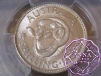 Australia 1952 Shilling PCGS MS64