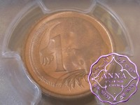 Australia 1966 M Two Cents PCGS MS64RB