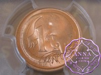 Australia 1966 M Two Cents PCGS MS64RD