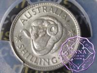 Australia 1941 Shilling PCGS MS62