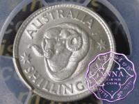 Australia 1942 Shilling PCGS MS64