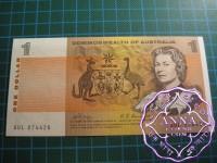 1969 $1 R73 Phillips/Randall UNC