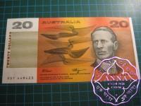 1990 $20 R412  Fraser/Higgins UNC