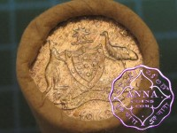 1963 Sixpence Mint Roll