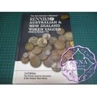 Renniks Australian & New Zealand Token Values Book 1st Edition