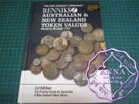 Renniks Australian & New Zealand Token Values Book 1st Edition