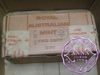 1981 2C Mint Roll X 50 Full Box