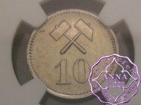 Greenland 1911 Mining LTD 10 Ore NGC MS63