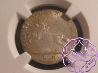 German States 1820 LB Hannover Georg III 3 Mariengroschen NGC MS64