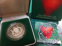 Australia 1991 Tasmania State Series Silver Proof  Coin