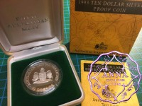 Australia 1993 ACT State Series Silver Proof  Coin