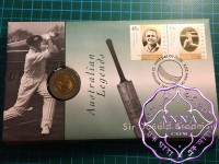 Australia 1997 Don Bradman 5 Dollar Bi Metal Coin PNC