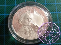 Australia 1989 Proof Silver 50C Type C