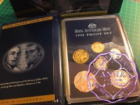 Australia 1998 Proof Set In Box Of Issue