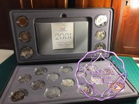 Australia 2001 Centenary of Federation Proof Coin Set With COA 20 Coins