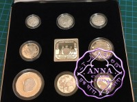 Australia 1991 Masterpieces in Silver Proof Set With COA 8 Coins