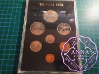 Tuvalu 1976 Proof Set 7 Coins