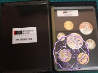 NZ 1991 Proof Set With COA 7 Coins