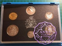 NZ 1993 Proof Set With COA 6 Coins