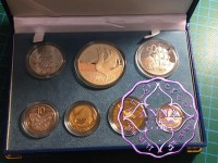 NZ 1998 Proof Set With COA 7 Coins