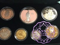 NZ 2000 Proof Set With COA 7 Coins