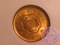 Japan 1908 Meiji Gold 10 Yen Year 41 NGC MS64