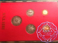 Bhutan 1979  Proof Set 5 Coins