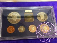 Brunei 1986 Proof Set With COA 6 Coins