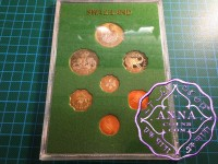 Swaziland 1979 Proof Set 7 Coins